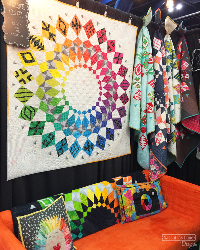 Quilt Market 2017 - The Booths