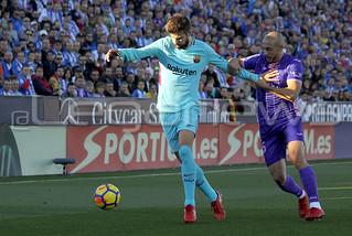 C.D. Leganés 0-3 F.C. Barcelona 18/11/2017