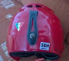 Prodám dětskou lyžařskou přilbu SHAIN 58M - titulní fotka