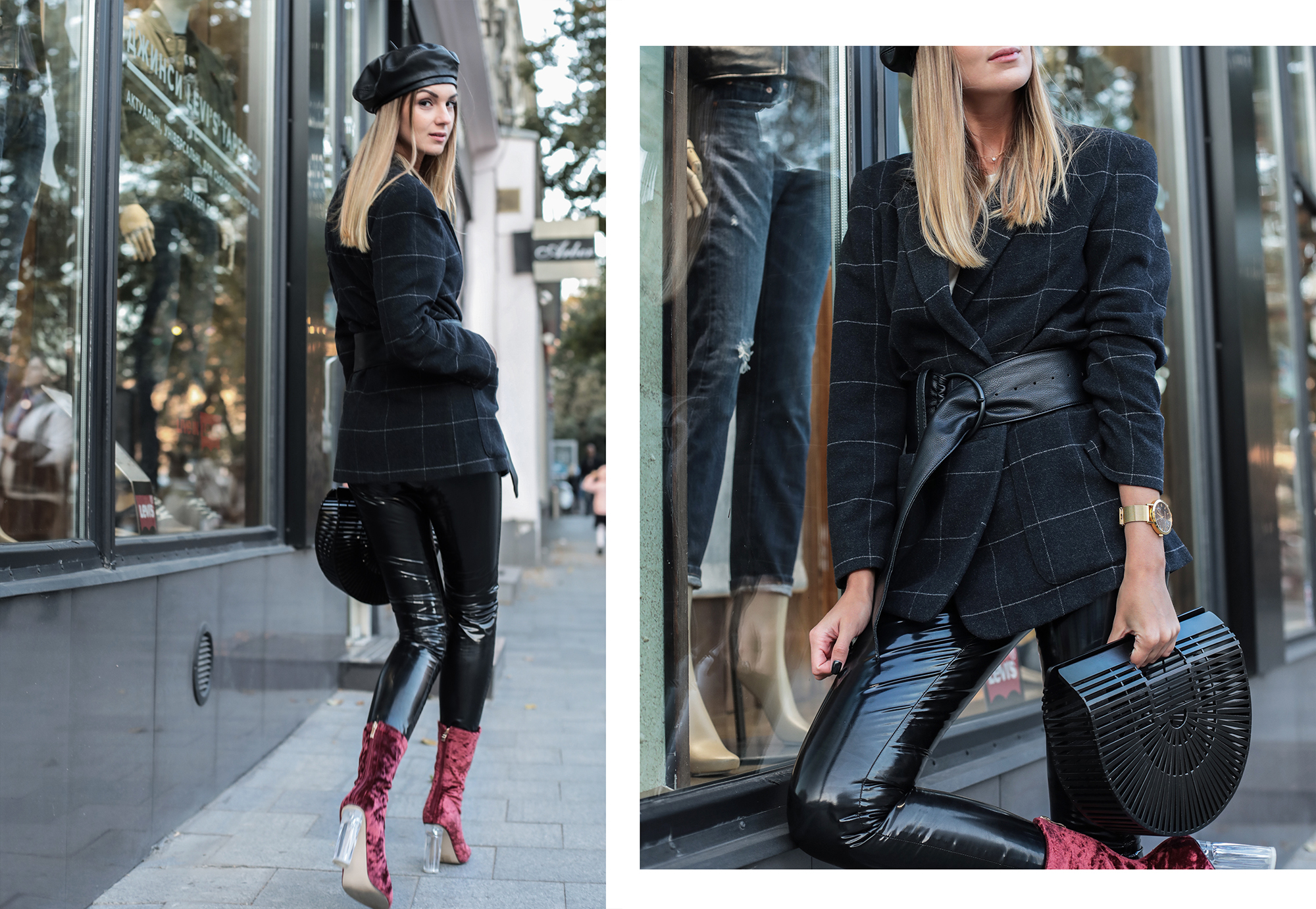 fashion-blogger-leather-beret-street-style