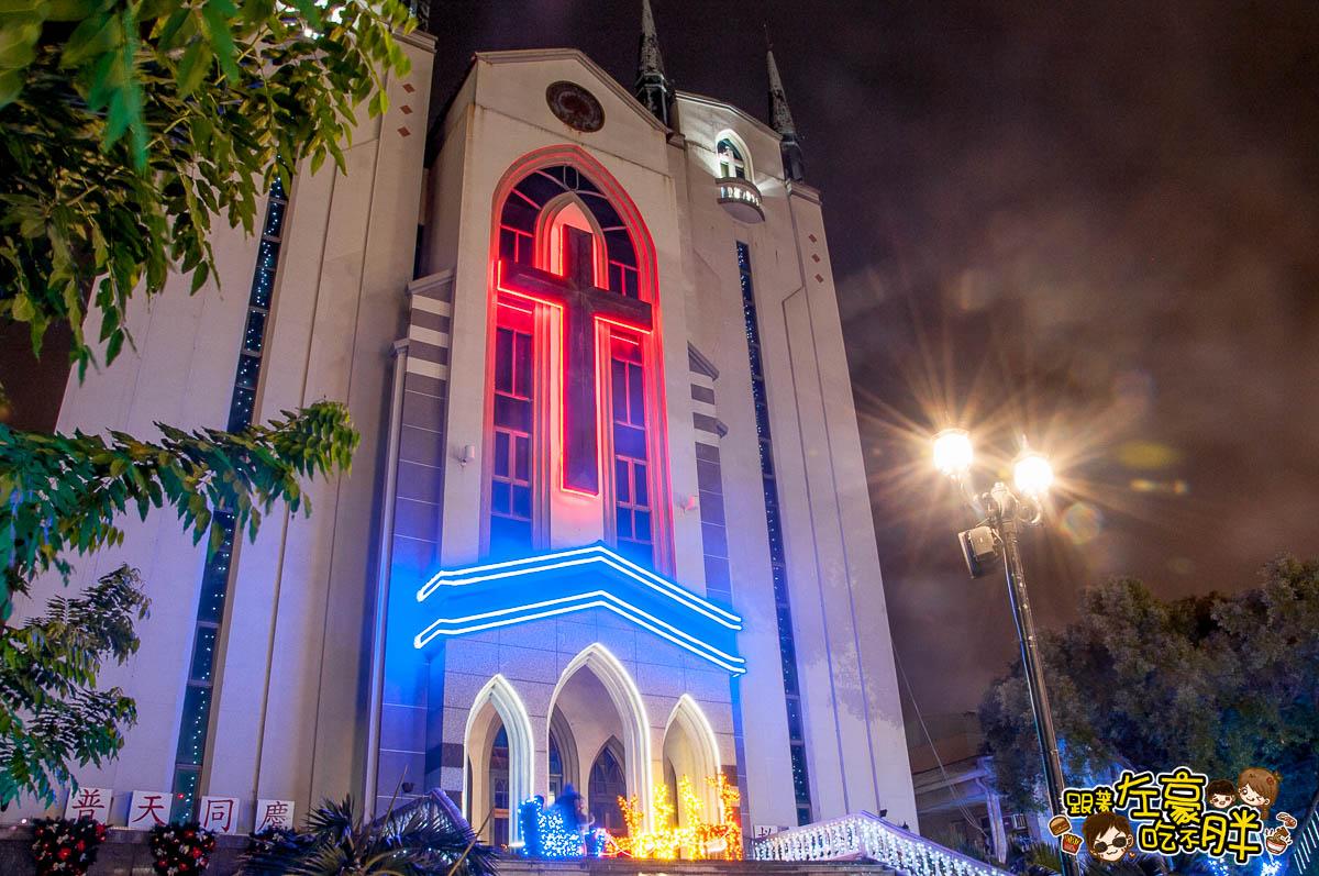 鳳山最美教堂聖誕景點-17