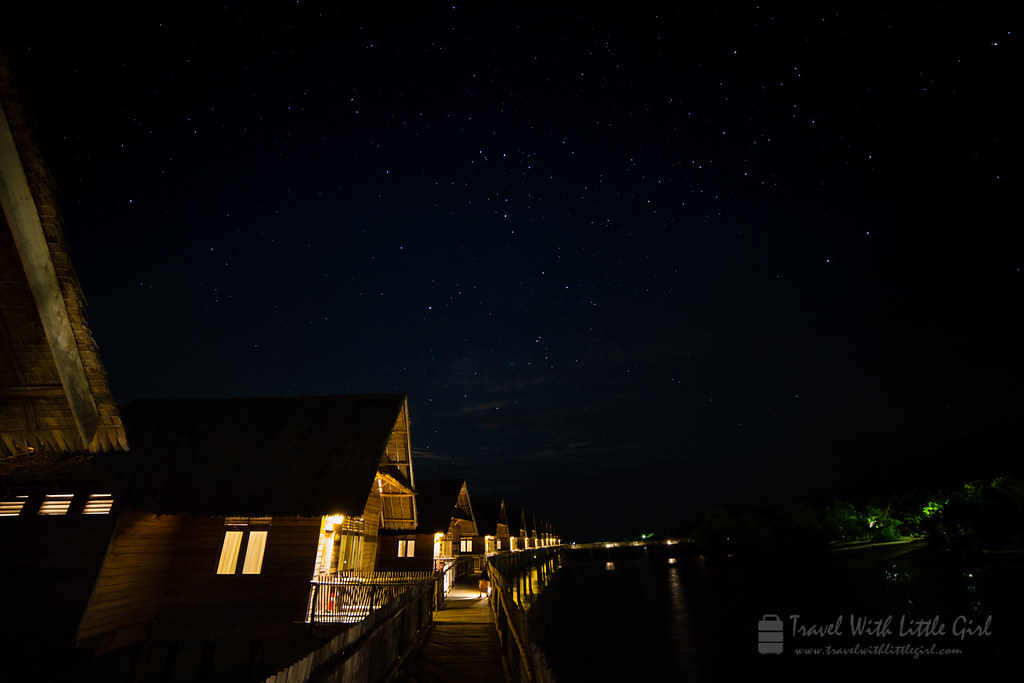 Stars and the island, Telunas Private Island
