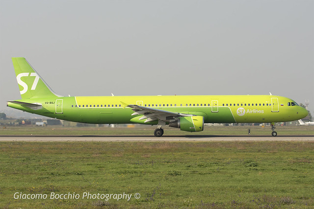 S7 Siberia Airlines, Airbus A321-211 [VQ-BQJ]