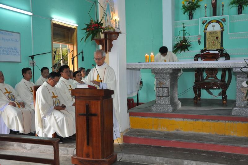 Bài giảng Thánh lễ nhậm chức Cha Phó đặc trách giáo họ Biệt Lập Vân Canh