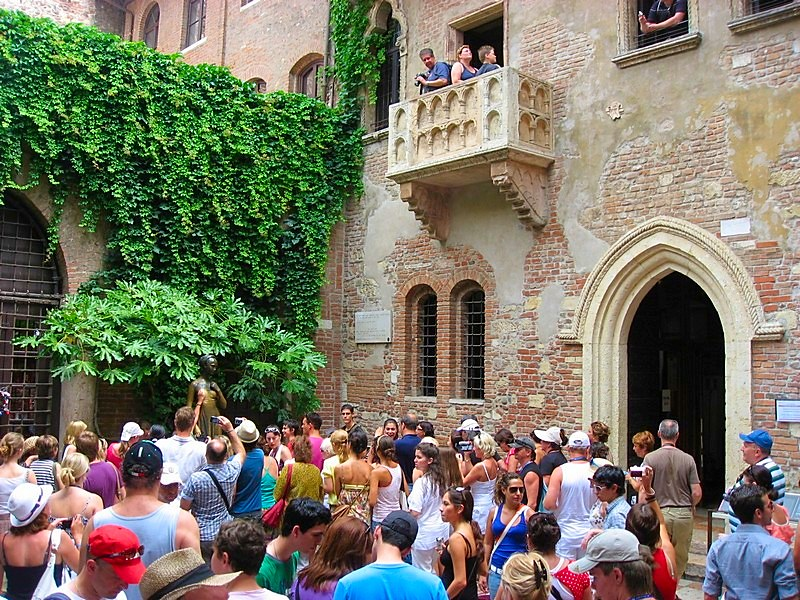 Verona beautiful northern Italian city