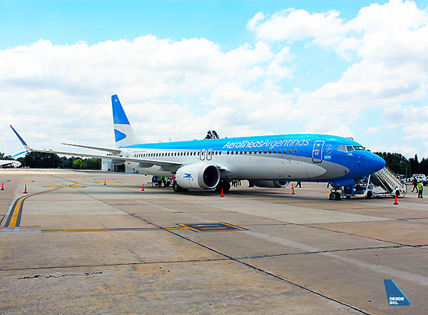 Aerolíneas Argentinas B737 MAX 8 (Edgardo Gimenez Mazó)