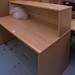 Beech reception counter E150