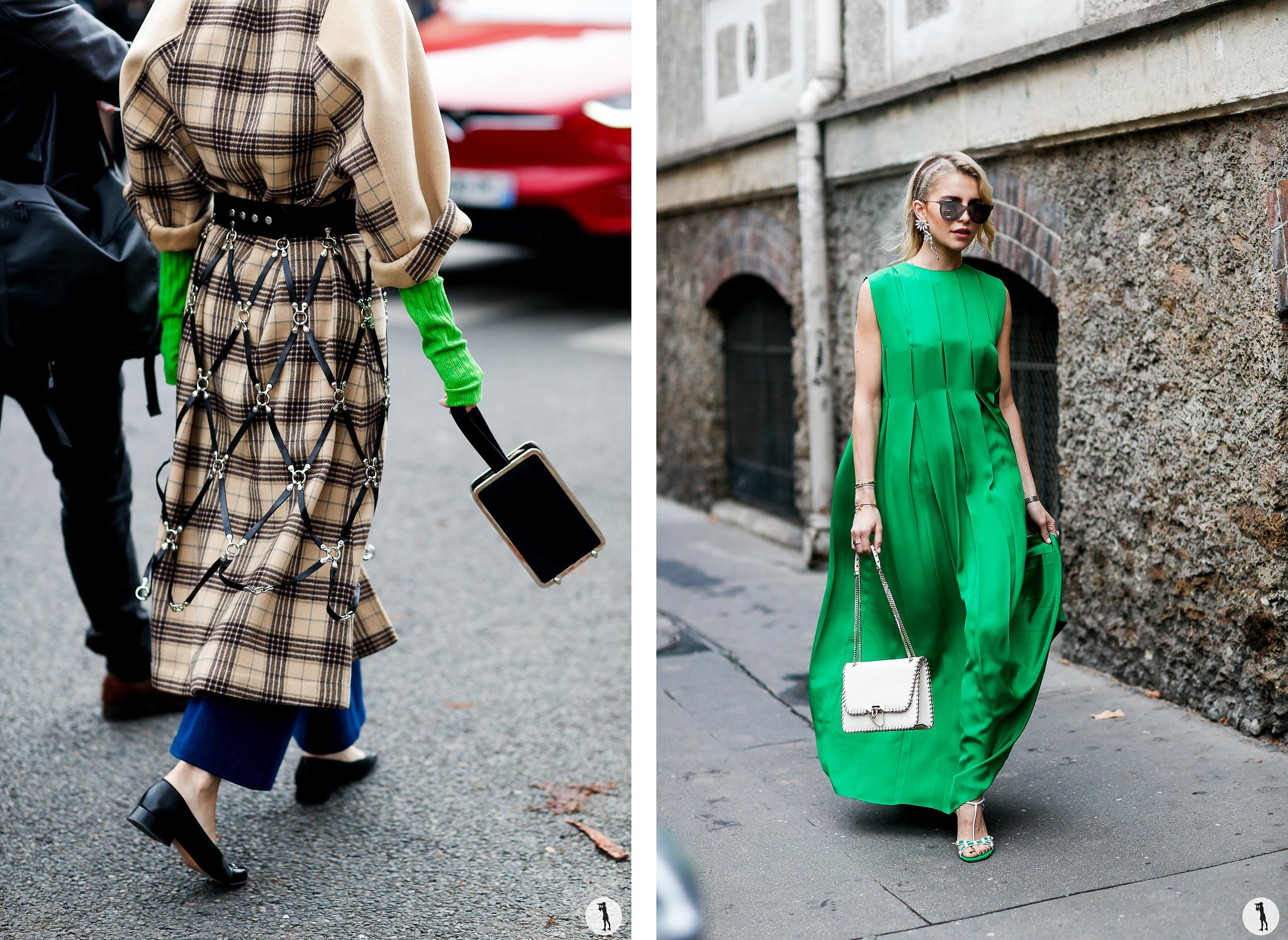 Close up and Caroline Daur - Paris Fashion Week SS18