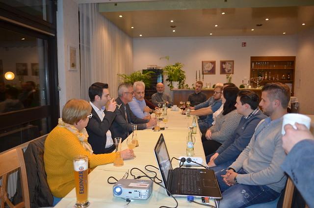 2. Neumitgliedertreffen am 9. November 2017 in Stolberg