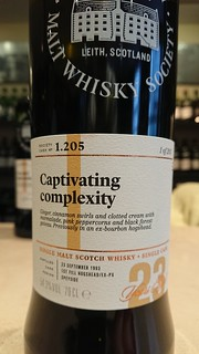 SMWS 1.205 - Captivating complexity