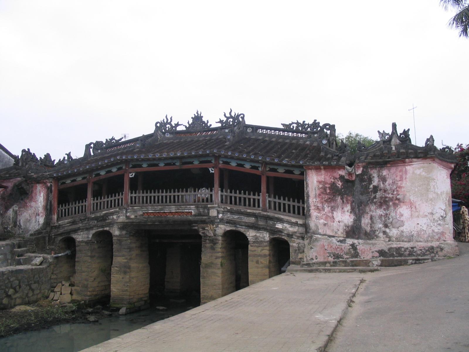 Chua Cau, Hoi An, Vietnam. Photo taken on March 17, 2005.