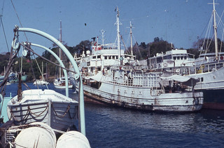 Manihine pulls out of her Mombasa berth,