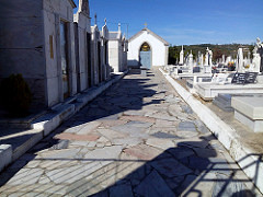 Alargamento do Cemitério da Guarda-Gare