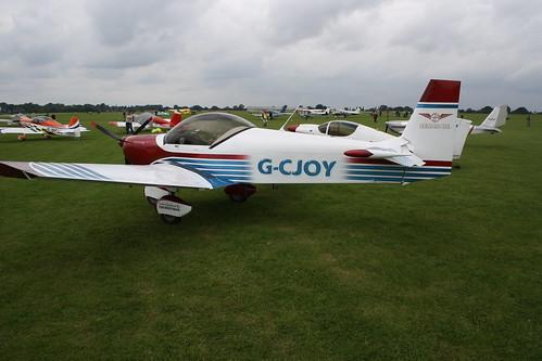 G-CJOY Zenair CH.601 [PFA 162-13273] Sywell 030917