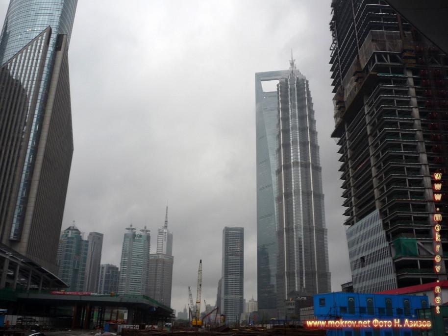 Исторический центр Шанхая в Китае в этом альбоме фотоработы