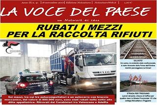 Noicattaro. Prima pagina n. 41-2017 front