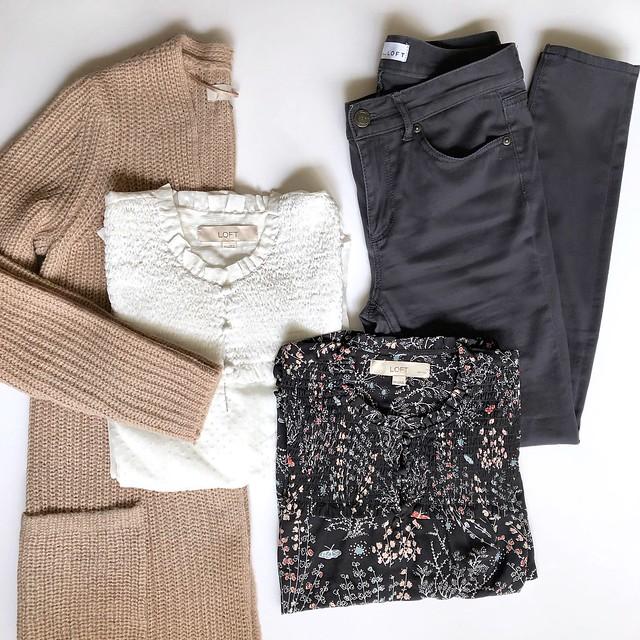 LOFT Mix & Match Outfit Idea