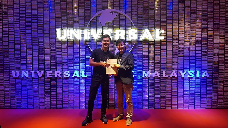 Alvin Chong Sah Milik Universal Music