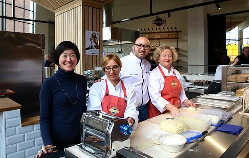 Opening Rossi Pasta Atelier in foodhall De Smidse - Leuven (18/11/2017)