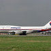 9M-MPH Boeing 747-4H6 Malaysia Airlines