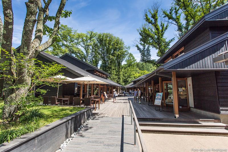 Harunire Terrace, en Karuizawa