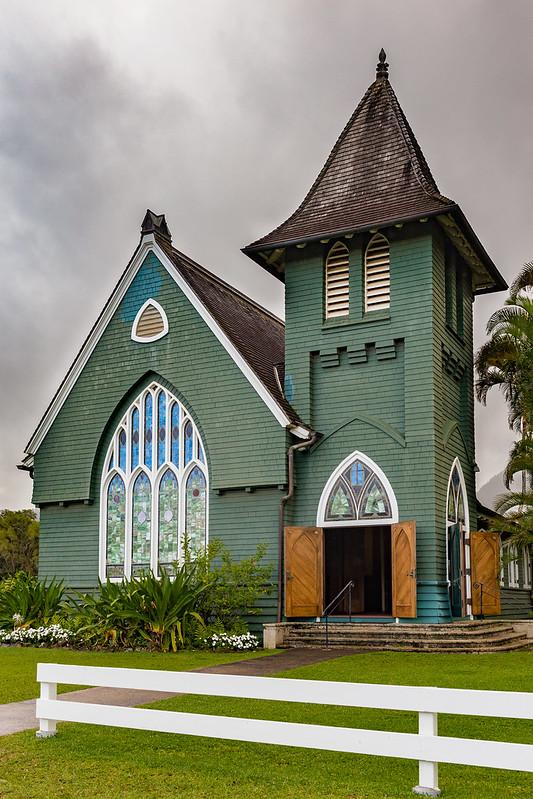 Wai'oli Hui'ia church - Hanalei - Kauai - Hawaii