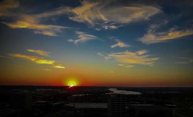 Arkansas River Sunset 2-2