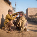 Street barber by Sohail Karmani