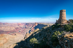 Desert View Watertower at the Grand Canyon