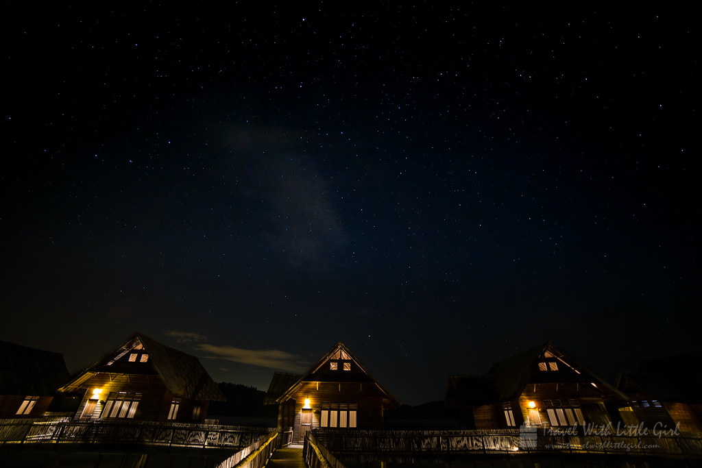 Stargazing at Telunas Private Island