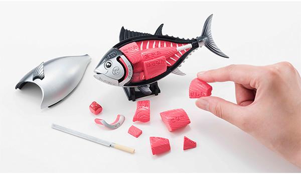 讓人食慾大爆發的立體拼圖!Megahouse『黑鮪魚解體拼圖』一本買い!!本マグロ解体パズル