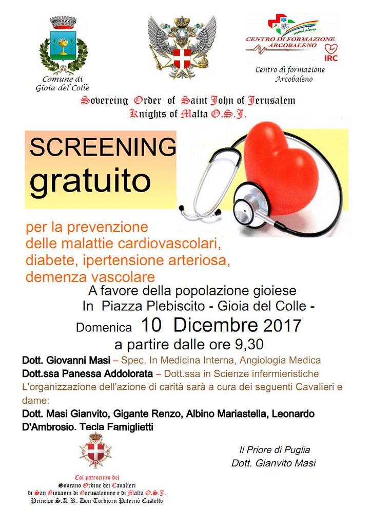 Locandina  Screening  10 Dicembre 2017 - prev malattie cardiovascolari_Page1