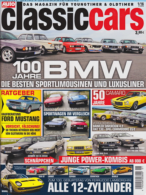 Auto Zeitung - Classic Cars 1/2016