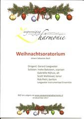 WEIHNACHTSORATORIUM