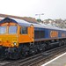 GBRf Class 66 66708 'Jayne' at Hastings Rail Station