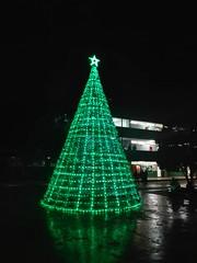 Árbol de Navidad en FIME.