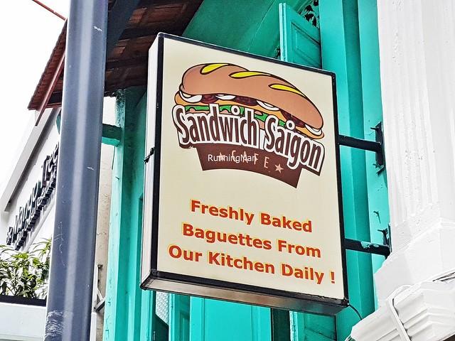 Sandwich Saigon Cafe Signage