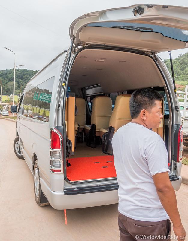 Laos Border & Luang Prabang