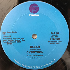 CYBOTRON:CLEAR(LABEL SIDE-A)