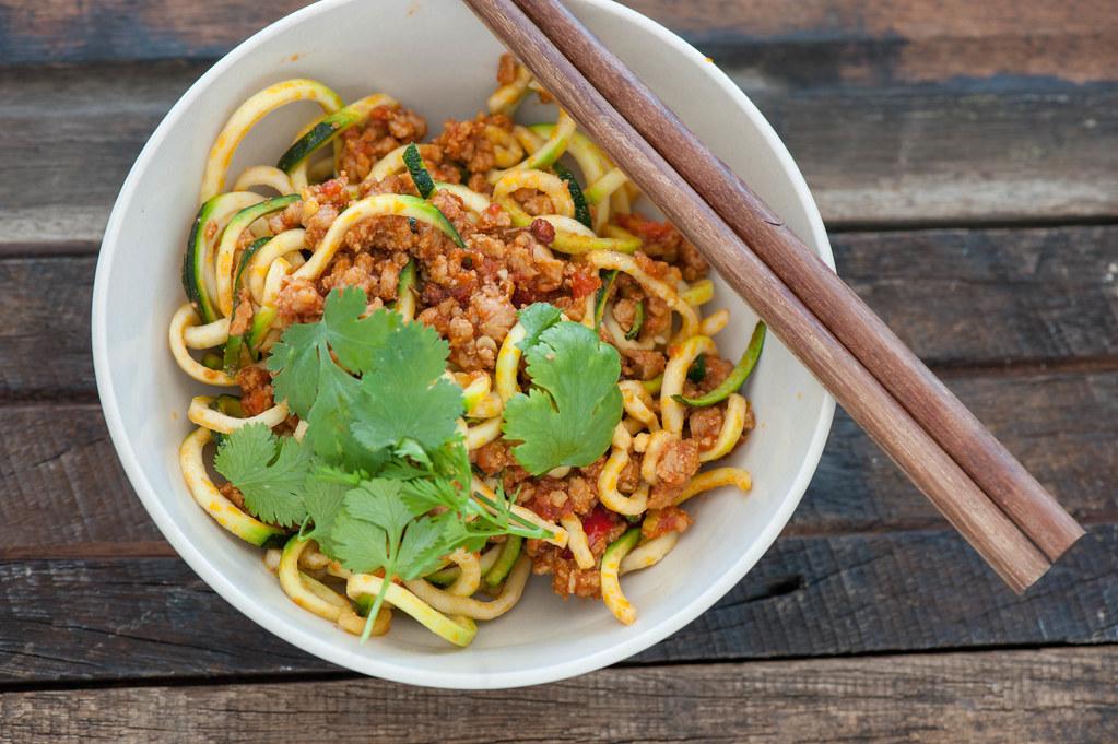 Spicy Sichuan Pork & Noodles