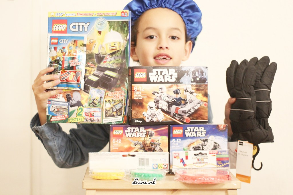 Djess en LEGO - pakjesmiddag