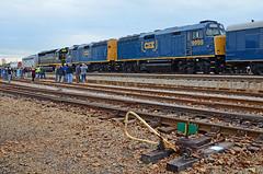 2017 11-18 1531 CSX Santa Train S/B Kingsport, TN
