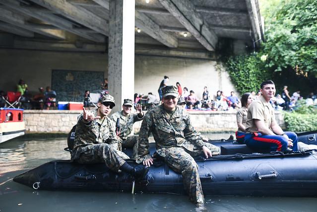 River Parade - Military
