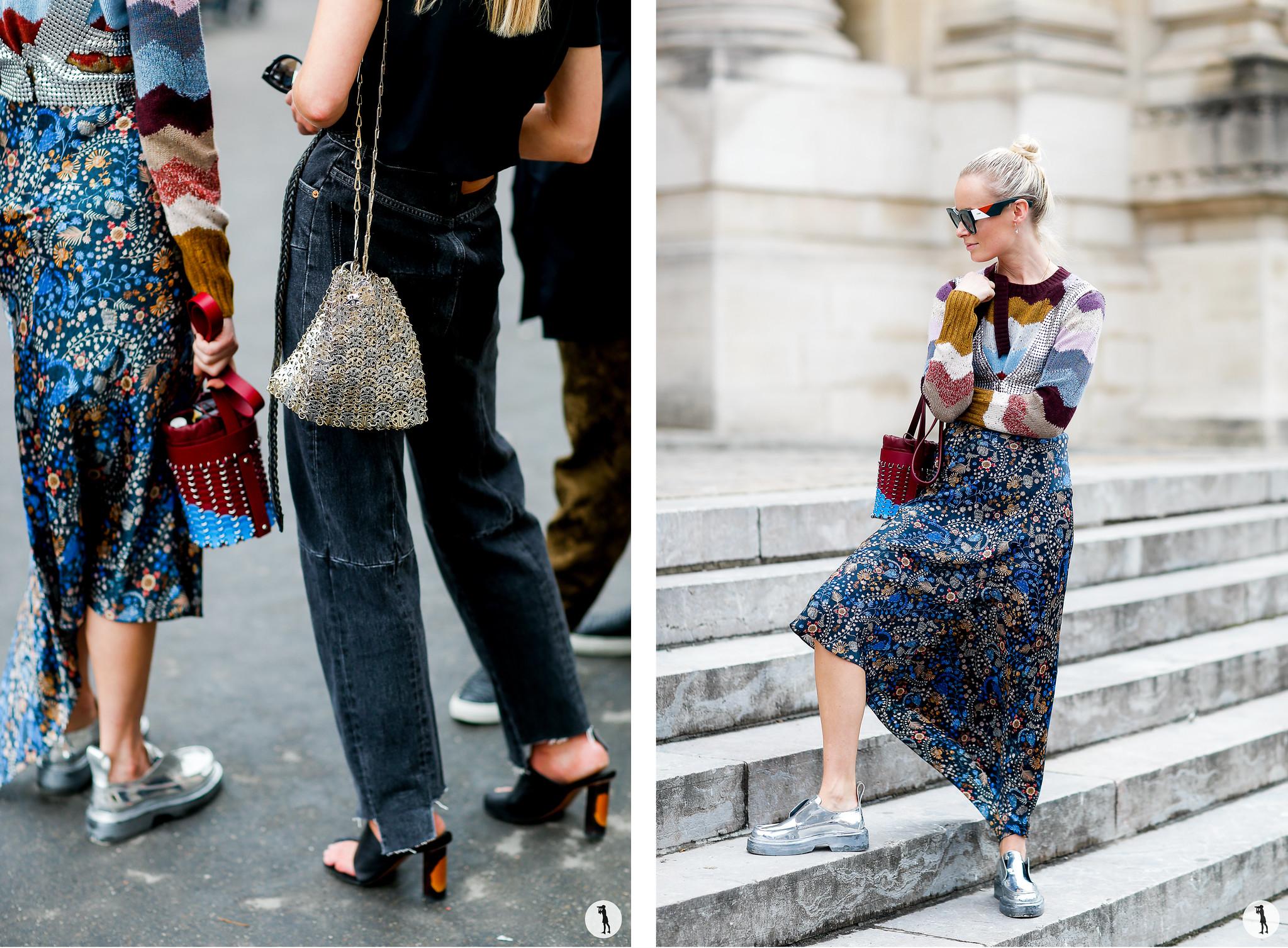 Close up and Thora Valdimars - Paris Fashion Week SS18