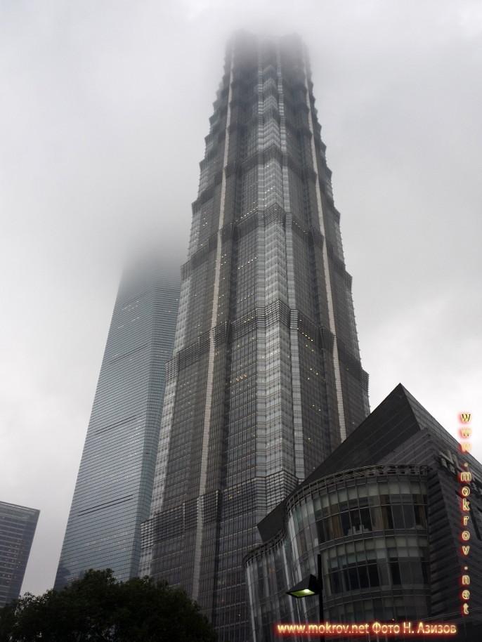 Исторический центр Шанхая в Китае фото достопримечательностей