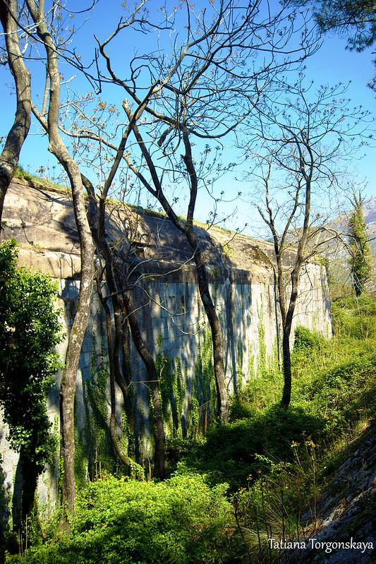 Стена крепости Врмац