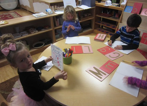 making alphabet books