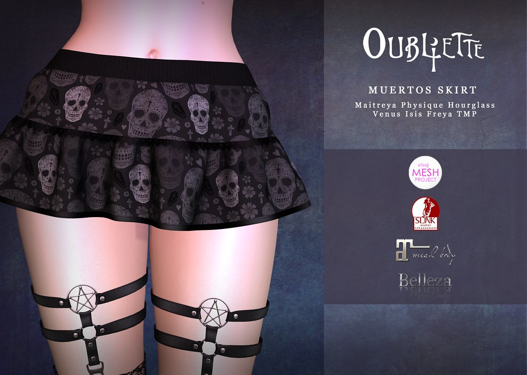 Oubliette- Muertos Skirt Gift - TeleportHub.com Live!