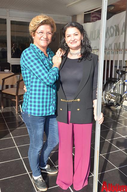 Eski Kadın Kolları Başkanı Şefika Yıldız, Yeni Kadın Kolları Başkanı Hülya Şen