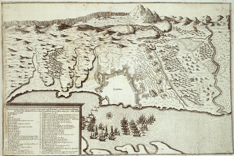 The final phase of the Siege of Candia by the Ottomans